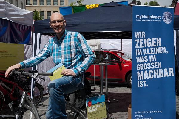 Bike4car am Ökomarkt 2014