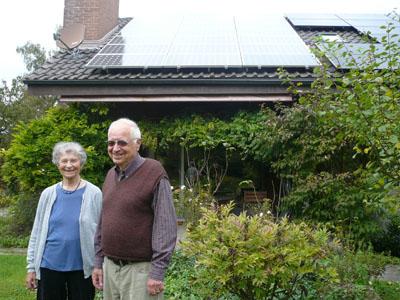 Elisabeth und Ernst Bichsel – Kombi-Solaranlage für Einfamilienhaus