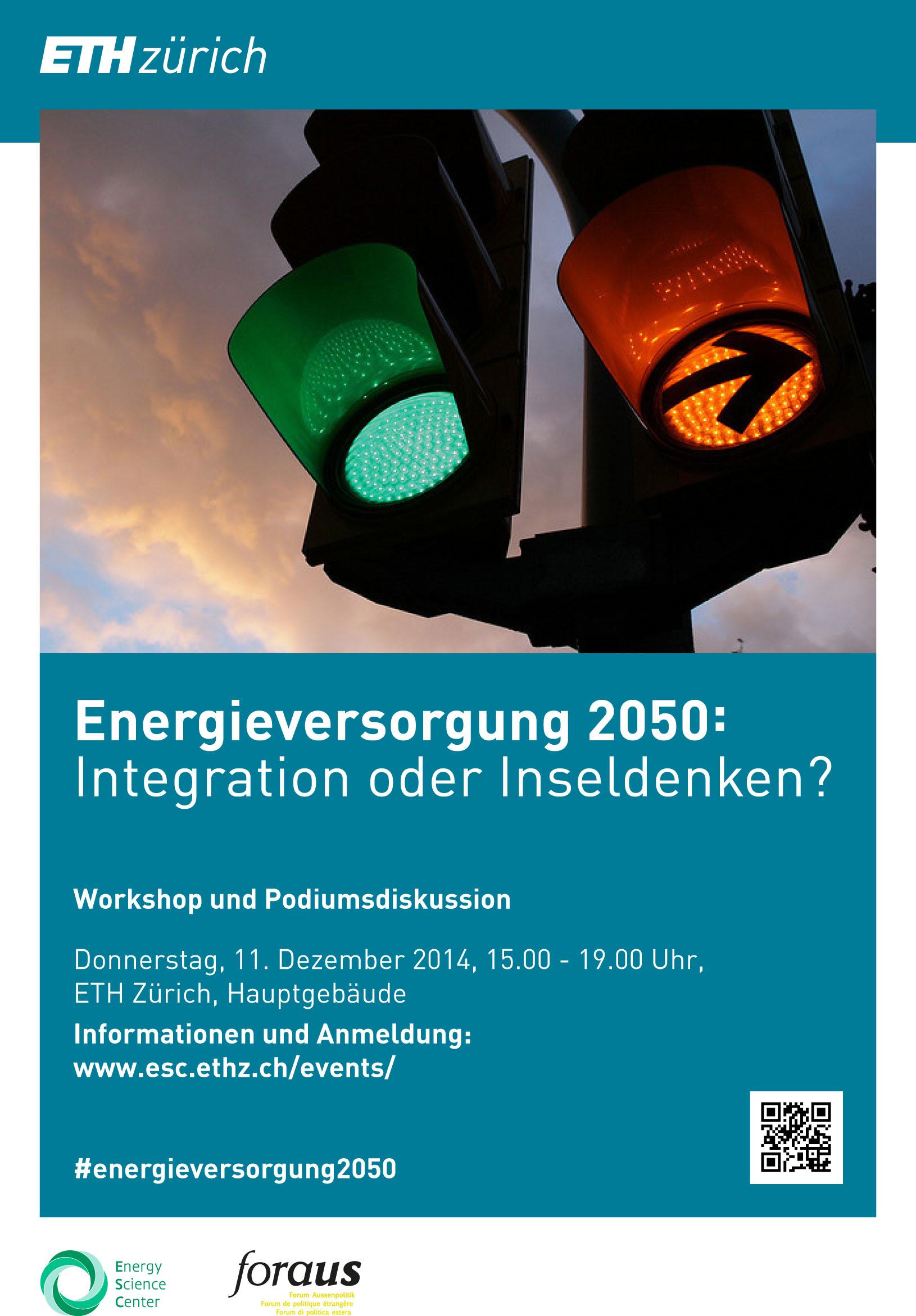 Energieversorgung 2050 - Veranstatlung ESC