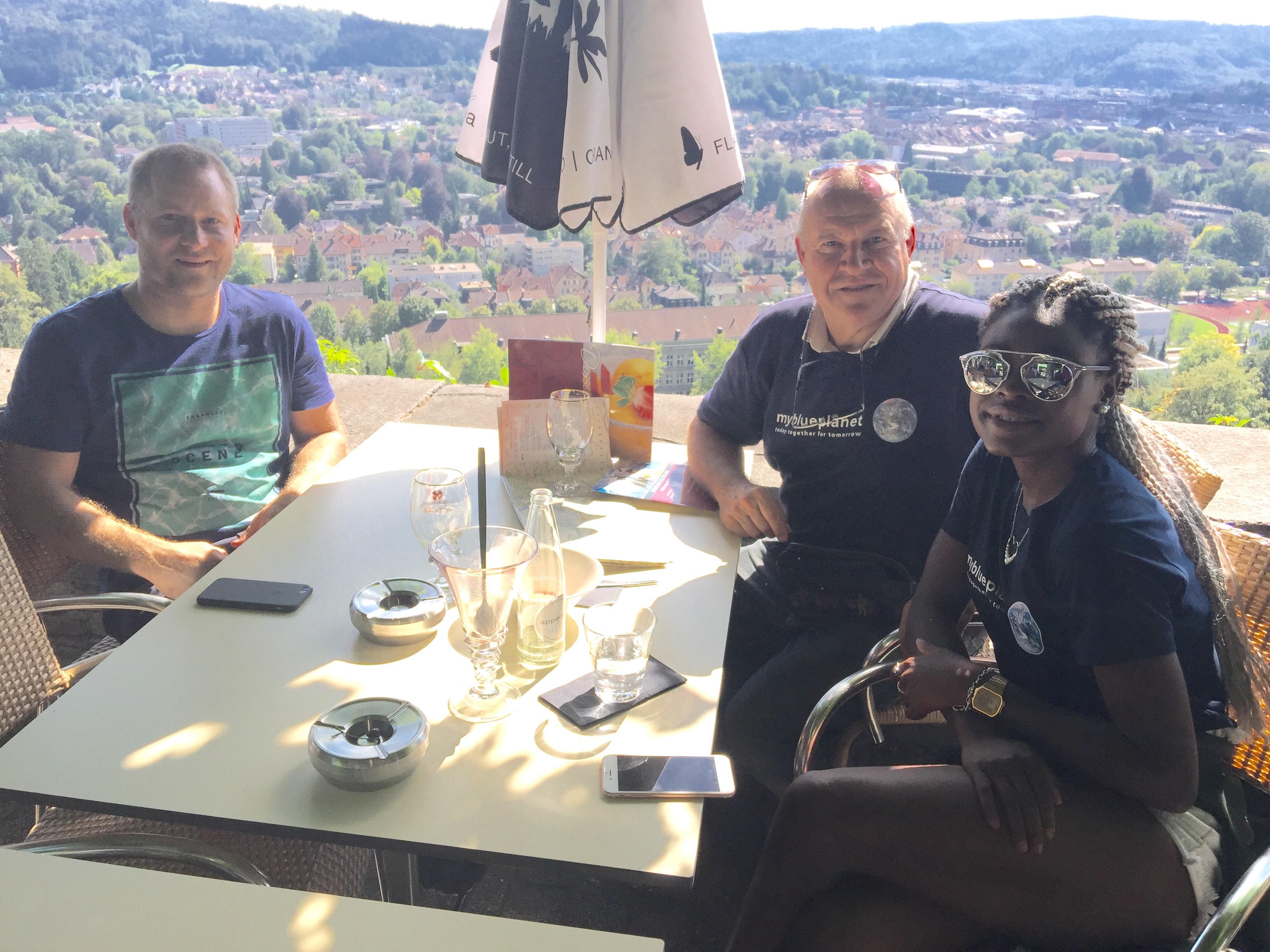 Ferienstimmung auf dem Goldenberg