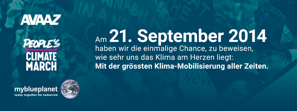 People's Climate March, Sept. 14
