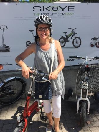 Portrait Sylviane Fleury Bike4car