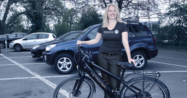 Bike4Car – Karin Witschi, Projektleiterin